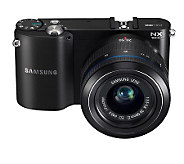 Samsung NX1000 20MP Digital Camera with WiFi - E223286