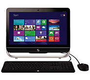HP 20 WiFi All-in-One Windows 8, 4GB RAM, 500GB HD & Softwar - E263489