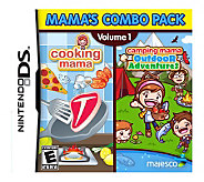 Mamas Combo Pack Vol 1: Cooking Mama & CampingMama - Nin DS - E267189