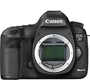 Canon EOS 5D Mark III DSLR Camera- Body Only - E262193