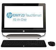 HP 23 Touch All-in-One, Windows 8, 6GB RAM, 1TB HD & Softwar - E263495
