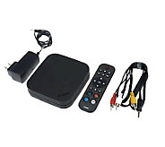Movie Nite Plus Wi-Fi Streaming Media Player with  130 Apps & Channels - E224196