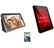 Toshiba 16GB Excite 10LE 10.1 Android Tablet &$25 Card &Case - E265599
