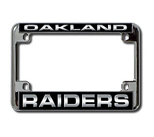 Nfl Oakland Raiders Laser Motorcycle Frame Qvc Com