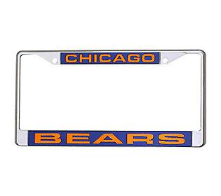 Nfl Chicago Bears Laser Chrome License Plate Frame Qvc Com