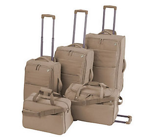 Heys USA Renovo 5 Piece Luggage Set