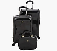 Heys 3-Piece HardsideSpinner Luggage Set w/Packing Cubes - F09494