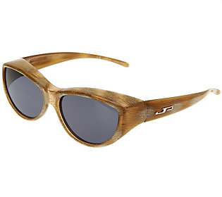 fitover fashion cat eye frame polarized sunglasses by