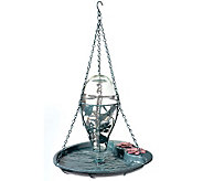 Lily Pad Birdbath with Reservoir - H177600