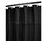 Watershed 2-in-1 Curtain Tuxedo 72x72 Shower Curtain - H356912