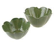 Blarney Ceramics 4 Leaf Clover Set of 2 Bowls - H191513