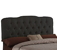 Home Reflections Shantung Diamond Tufted QueenHeadboard - H135214