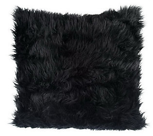 Dennis Basso Faux Fur Mongolian 24x24 Accent Pillow