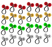 24-piece Shiny Bungee Bobbles by Valerie - H193116