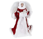 16 Winter Angel Tree Topper by Valerie - H193119
