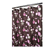 Watershed 2-in-1 Starburst Floral 72x72 ShowerCurtain - H184822