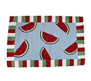 JuicyWatermelon 22 x 34 Accent Rug by Valerie - H195223