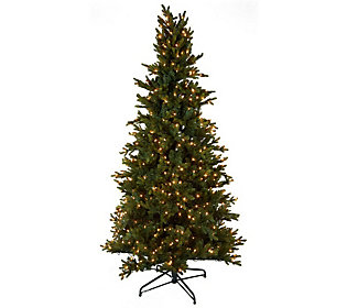 Lights 65 Noble Spruce Christmas Tree wInstant Power     QVCcom sdycLMcK