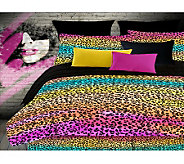 Veratex Rainbow Leopard Full Sheet Set Set - H351527