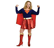 Supergirl Plus Adult Costume - H181930