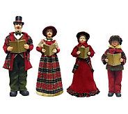 27 Carolers by Santas Workshop - Set of 4 - H362932
