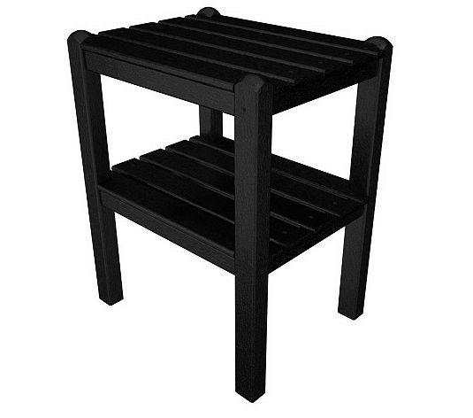 Furniture Outdoor Furniture Table 2 Shelf Plastic Table