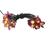 Bethlehem Lights 21 Battery Op. Flower Light Strand & 20 LED - H194235