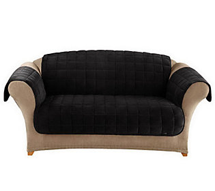 Sure Fit Deluxe Comfort Furniture Friend Sofa Cover — QVC.