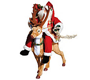 Santa Riding Reindeer by Santas Workshop - H362936
