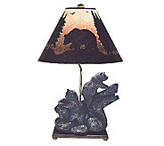 Double Bear Table Lamp - H110137
