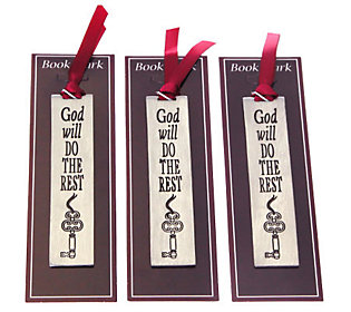 Set of Three Inspirational Bookmarks by Catherine Galasso