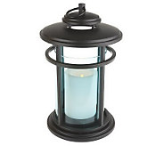 Bethlehem Lights 11 Indoor Outdoor Colored Glass Lantern w/Timer - H191242