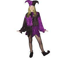 Jester Adult Plus Halloween Costume