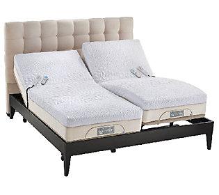 Sleep number memory foam sk adjustable mattress set with for Sleep number mattress prices
