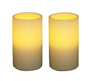 S/2 Pacific Accents 3 x 5 Indoor/Outdoor Flameless Candles - H357146
