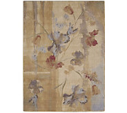 Nourison 79 x 1010 Abstract Modern Botanical Rug - H178850