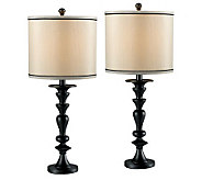 Kenroy Home Bobbin 2-Pack Table Lamps - H181554