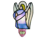Tiffany Style Set of 6 Praying Angel Night-Lights - H181356