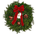 H18556 - Delivery Week 12/7 Balsam Fir Holiday Wreath by Valerie