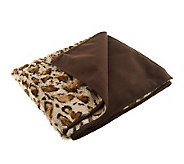 Dennis Basso Lightweight Faux Fur 50x60 Throw - H199357