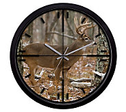 La Crosse Technology 407-714 Deer Wall Clock - H356358
