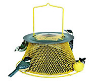 No/No Sunflower Basket 2 lb Bird Feeder in Yellow - H349759