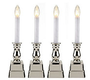 As Is Bethlehem Lights Battery Operated Window Candles w/Timer - H199465