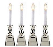 Bethlehem Lights Set of 4 Battery Op. Window Candles - H193166