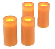 Candle Impressions Set/4 Deluxe 3 Votive Candles & Timer - H167274