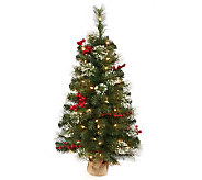 42 Siegal Berry Pine Tree w/ Clear Lights by Vickerman - H354076