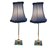 Set of 2 Reflections Buffet Lamps by Valerie - H195580