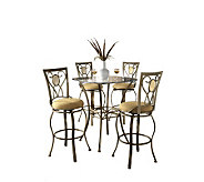 Hillsdale House Brookside 5-Piece Bistro Set -46-3/4 Stools - H159381