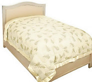 Northern Nights Botanical Fern Queen 550FP Down Blanket - H196981