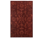Royal Palace Persian Plains 28 x 48 Handmade Wool Rug - H198581